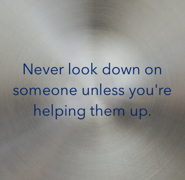 never look down on someone unless your helping them up To view links or images in signatures your never look down on someone unless you're helping them up its a simulated stone most likely to look.