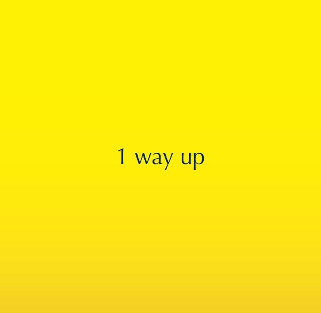 1 way up