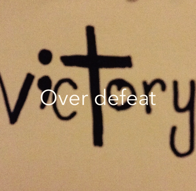 Over defeat