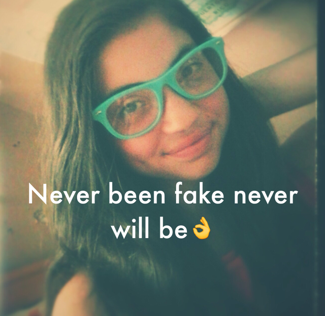 Never been fake never will be👌
