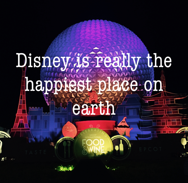 Disney is really the happiest place on earth