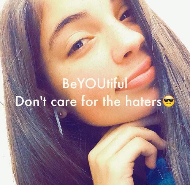 BeYOUtiful  Don't care for the haters😎