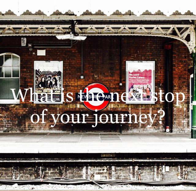 What is the next stop of your journey?