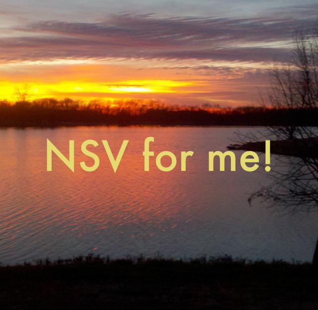 NSV for me!