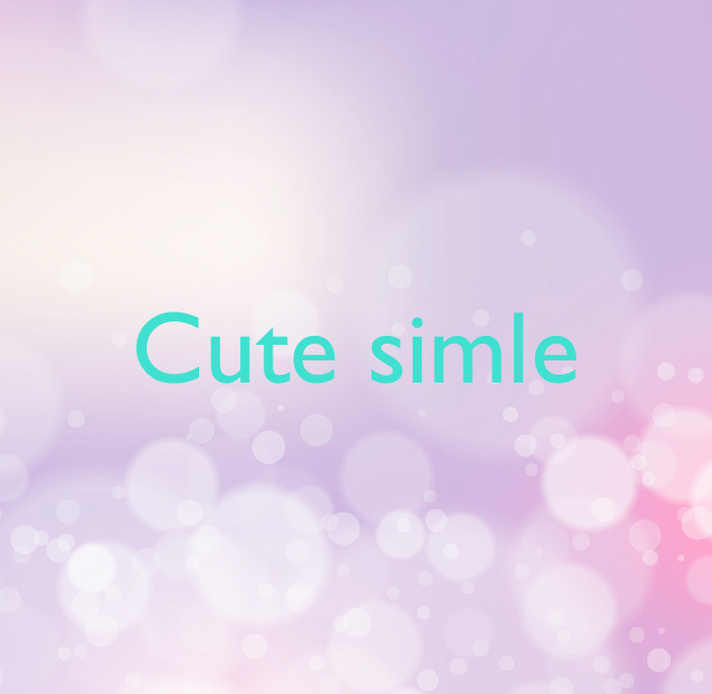 Cute simle