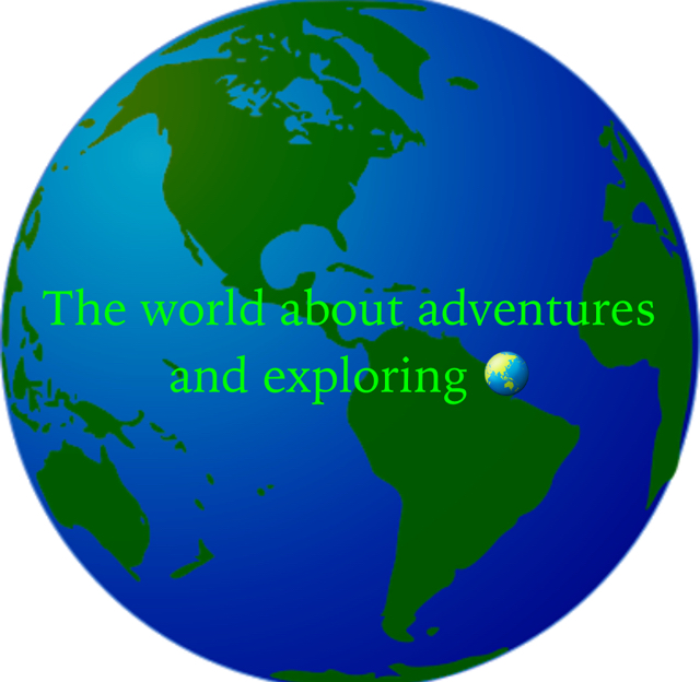 The world about adventures and exploring 🌏