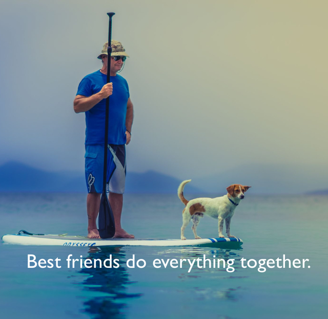 Best friends do everything together.
