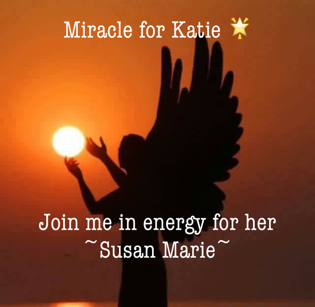 Miracle for Katie 🌟 Join me in energy for her  ~Susan Marie~