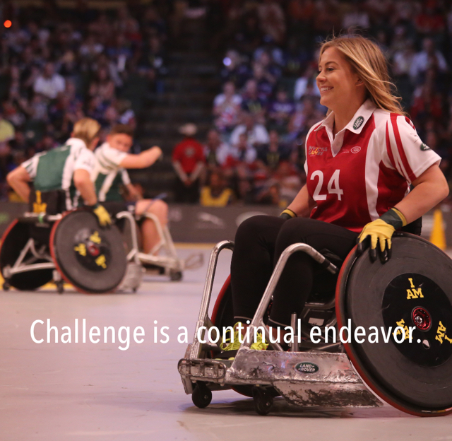 Challenge is a continual endeavor.