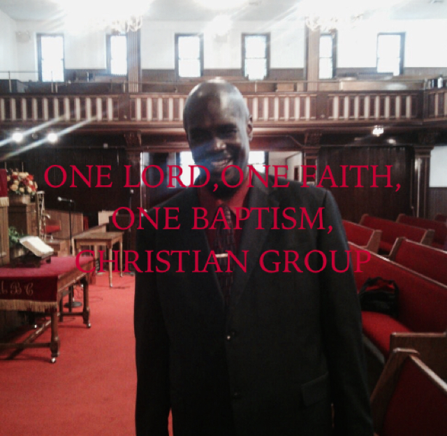 ONE LORD,ONE FAITH, ONE BAPTISM, CHRISTIAN GROUP