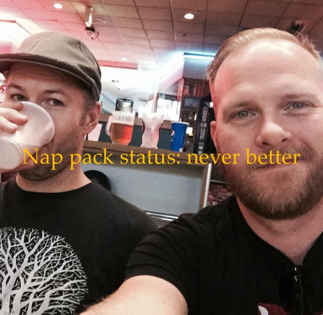 Nap pack status: never better