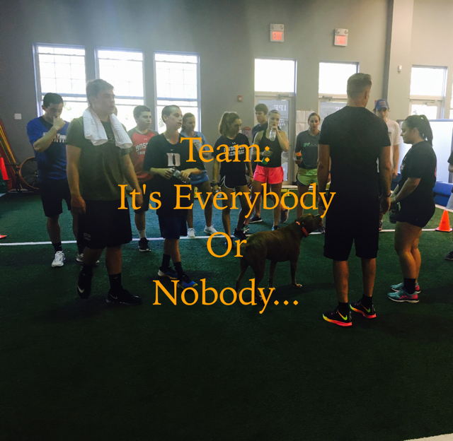 Team: It's Everybody Or  Nobody...