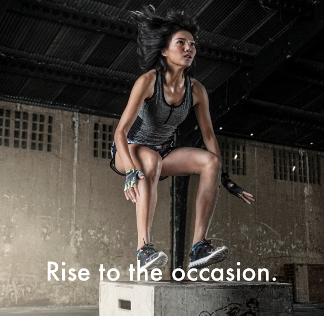 Rise to the occasion.