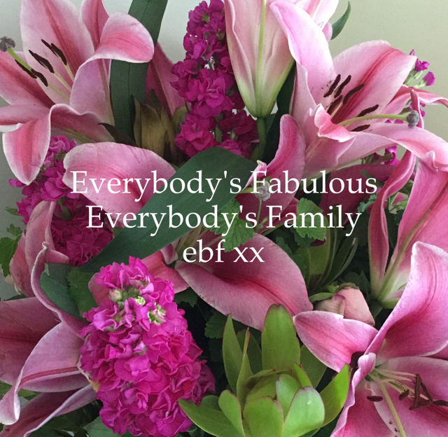 Everybody's Fabulous  Everybody's Family ebf xx