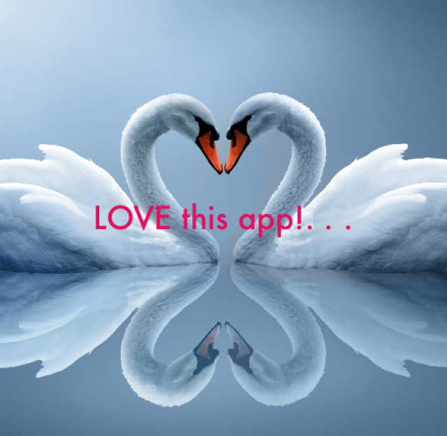 LOVE this app!. . .