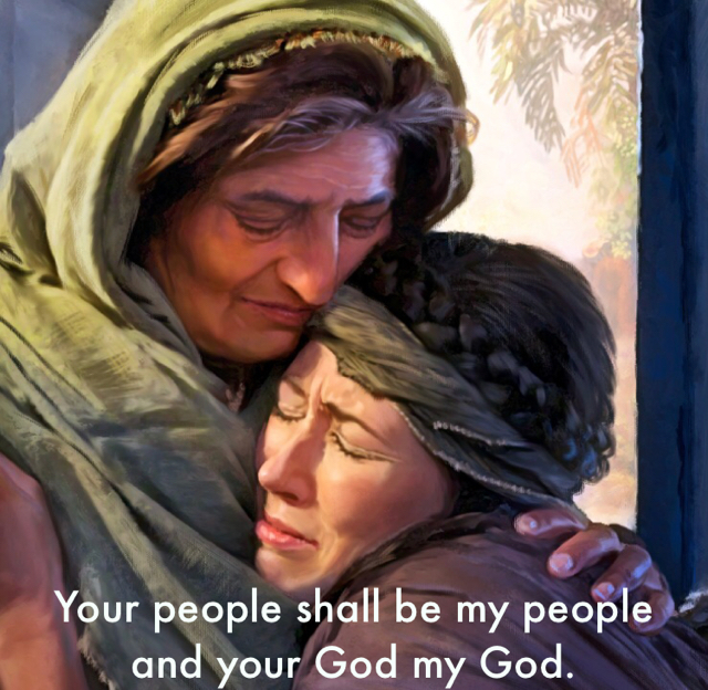 Your people shall be my people and your God my God.