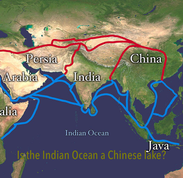 Is the Indian Ocean a Chinese lake?