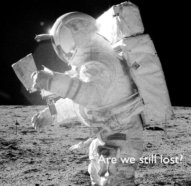 Are we still lost?