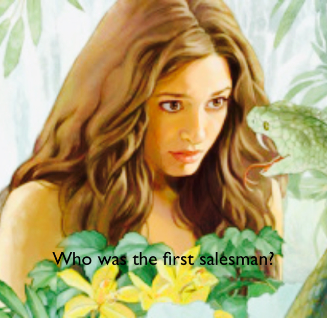 Who was the first salesman?