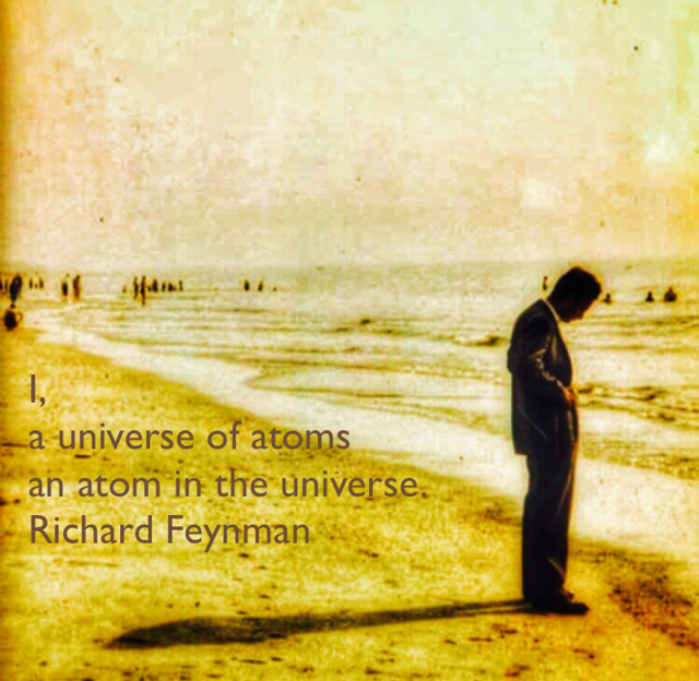 I,  a universe of atoms an atom in the universe. Richard Feynman