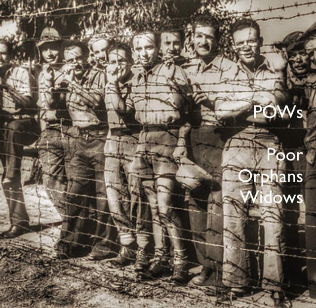 POWs Poor Orphans Widows