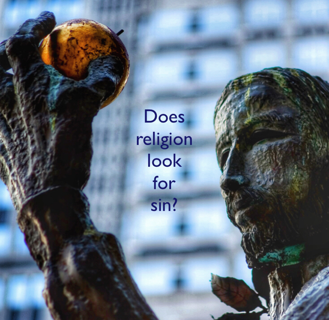 Does religion look for  sin?