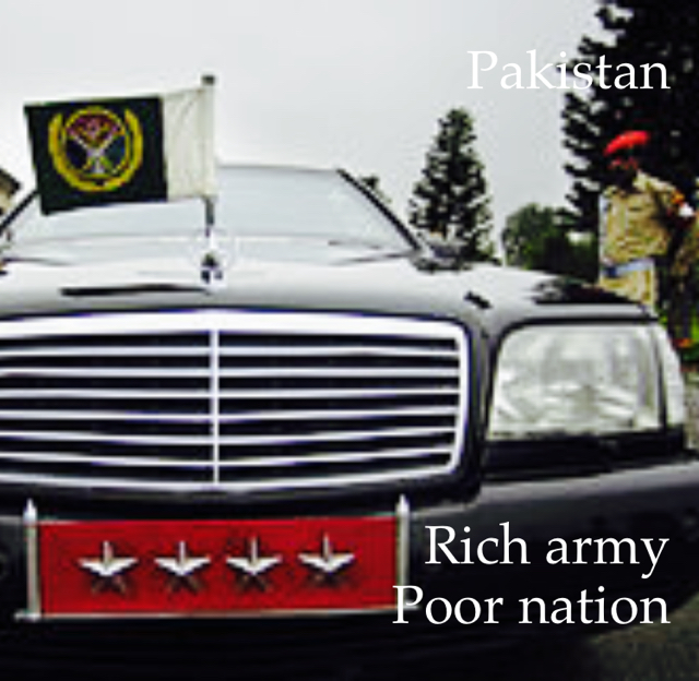 Pakistan Rich army Poor nation