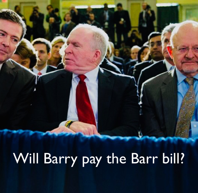 Will Barry pay the Barr bill?