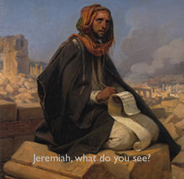 Jeremiah, what do you see?